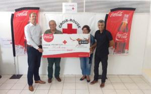 Coca-Cola : Partaz avec la Délégation Territoriale de la Croix Rouge Française à La Réunion et lui reverse 10 000 euros