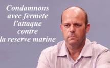Condamnons avec fermeté l'attaque contre la réserve marine