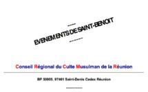 EVENEMENTS DE SAINT-BENOIT