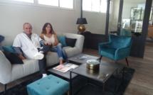 Dr Vic Baranes et Muriel Hoarau