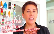 Corine BÉDIER, Réunionnaise engagée