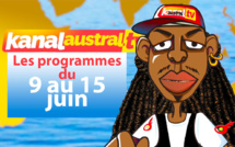 Programme télé KANAL AUSTRAL TV 9-15 JUIN