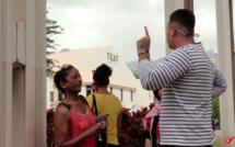 Les Réunionnais investissent le tribunal, un véritable Téat
