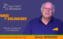 Alain BENARD : Candidat sur la 2e