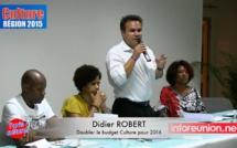 Didier ROBERT : Met les bouchées doubles pour l'identité Réunionnaise