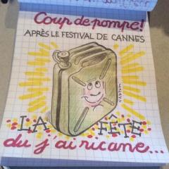 Gribouille, j'ai rit Cannes